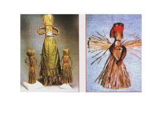 Кукла символизировала плодородие. Куклы-стригушки делались из первого «именно