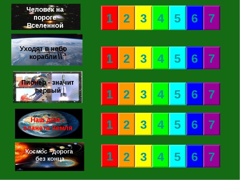 1 2 3 4 5 6 7 1 1 1 1 2 2 2 2 3 3 3 3 4 4 4 4 5 5 5 5 6 6 6 6 7 7 7 7 Уходят...