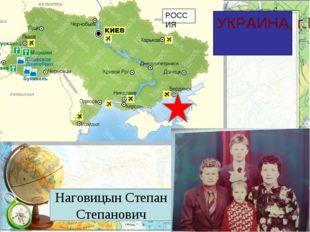 УКРАИНА, г.Бердянск РОССИЯ Наговицын Степан Степанович