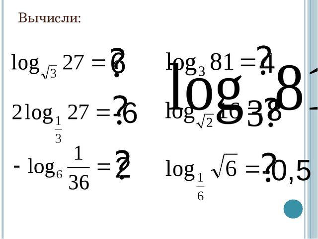 Вычисли: 4 6 8 -6 2 -0,5