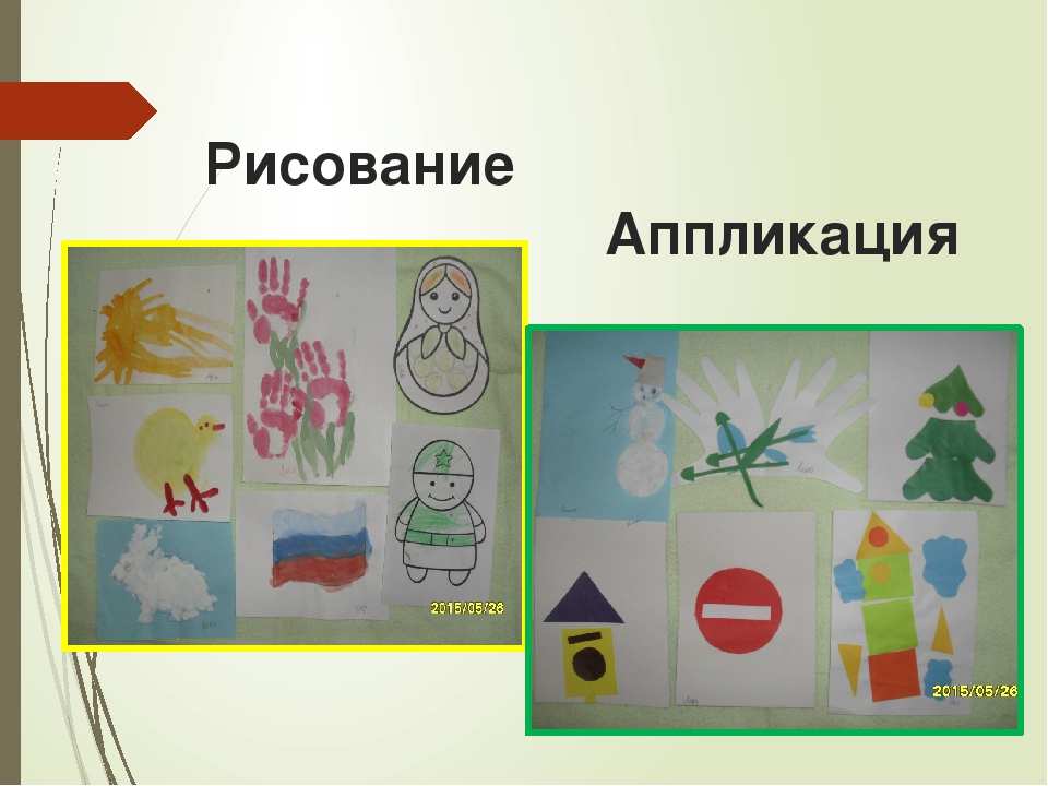 Рисование Аппликация