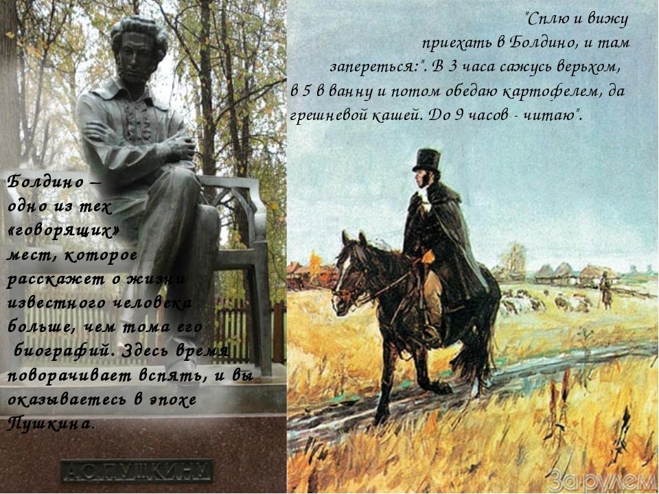 запечатлеть пушкин в болдино с картинками например