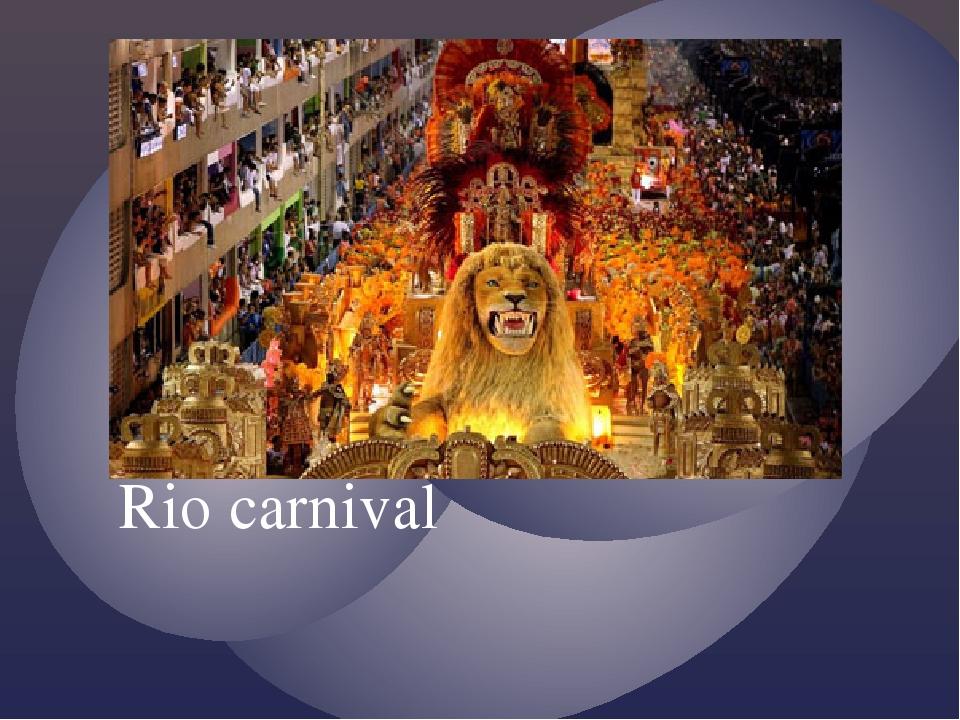 Rio carnival {