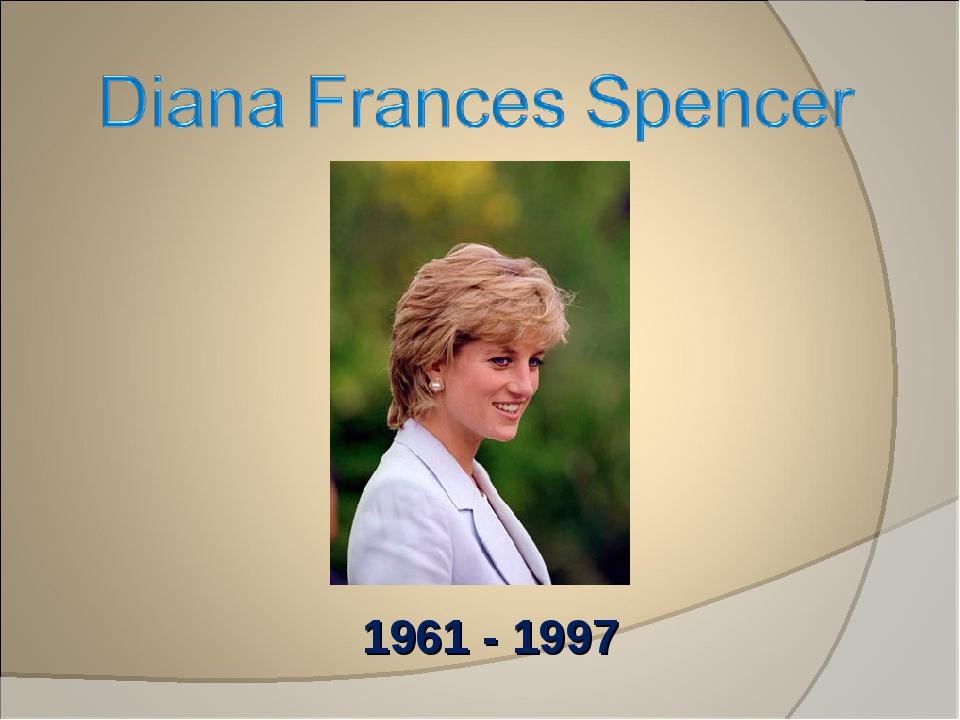 1961 - 1997