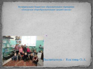 «Мини –музей в детском саду как средство познавательного развития дошкольник