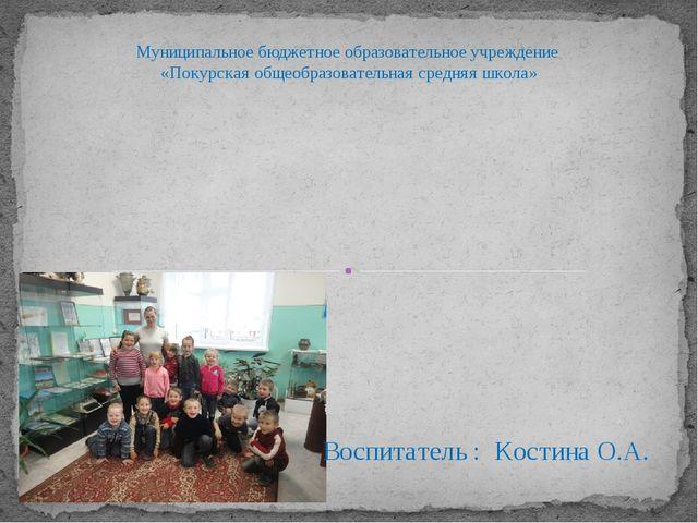 «Мини –музей в детском саду как средство познавательного развития дошкольник...