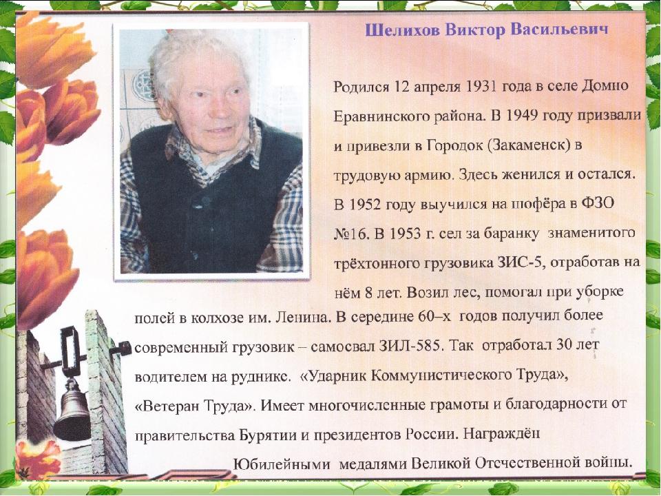 Шелихов Виталий Васильевич