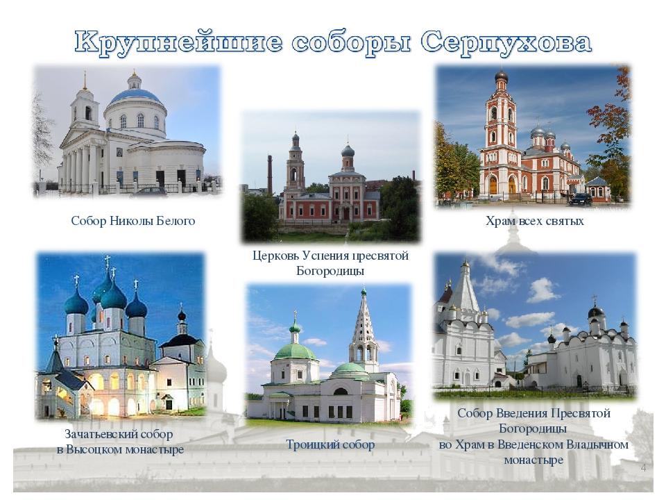 * Собор Введения Пресвятой Богородицы во Храм в Введенском Владычном монастыр...