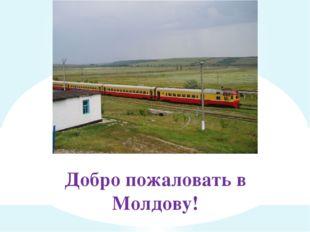 Добро пожаловать в Молдову!