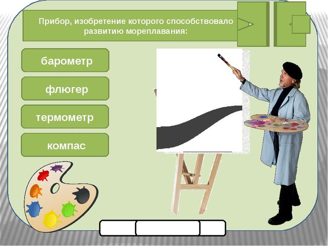 Помоги художнику нарисовать картину Прибор, изобретение которого способствов...