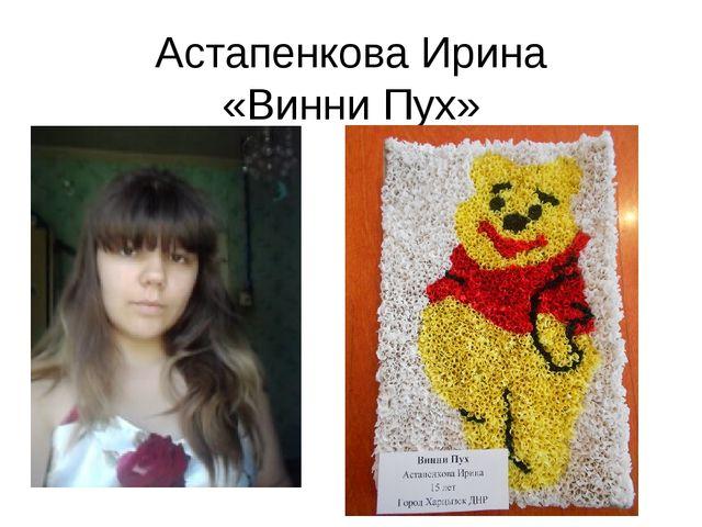 Астапенкова Ирина «Винни Пух»