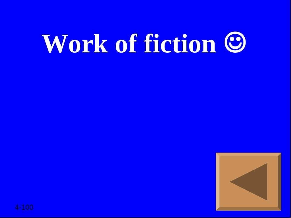 Work of fiction  4-100