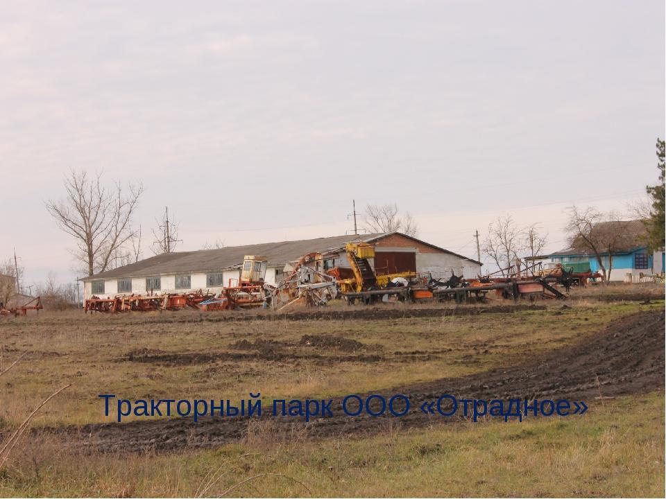 Тракторный парк ООО «Отрадное»