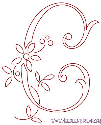 Нарисовать вензельную букву с