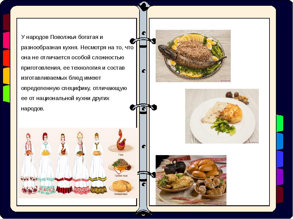 У народов Поволжья богатая и разнообразная кухня. Несмотря на то, что она не...