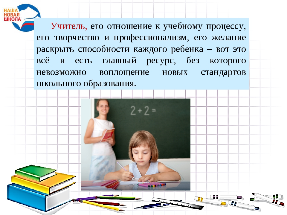 Учитель, его отношение к учебному процессу, его творчество и профессионализм,...
