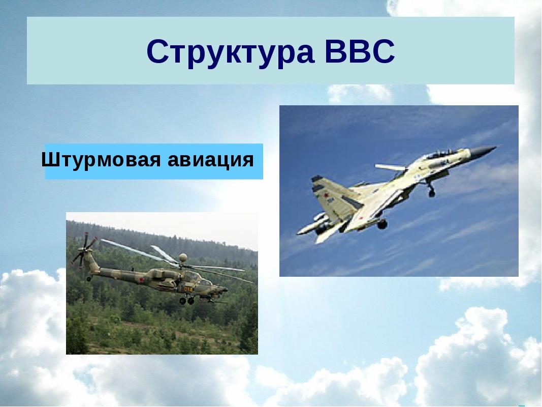 Структура ВВС Штурмовая авиация