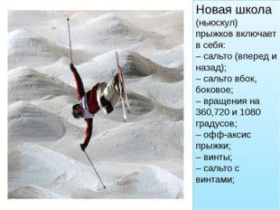Лыжный спорт:Фристайл Дисциплина:Ски-кросс. В этом лыжном спорте четыре лы