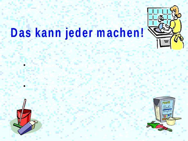Nimm zum Waschen und Saubermachen weniger Waschmittel. Waschmittel verschmut...
