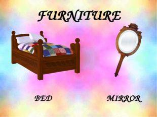 FURNITURE BED MIRROR