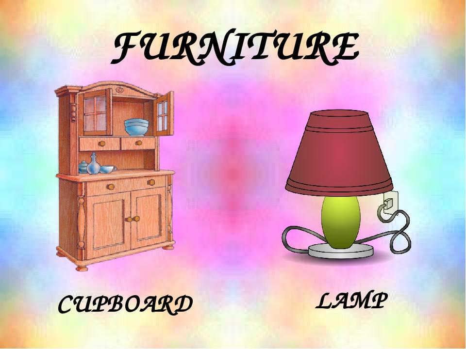 FURNITURE CUPBOARD LAMP