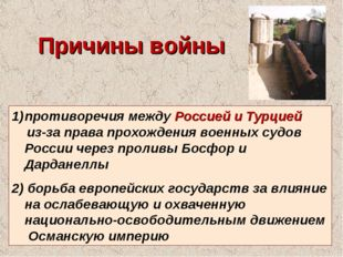 противоречия между Россией и Турцией из-за права прохождения военных судов Ро