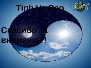 Tinh Vo Dao Спасибо за внимание !