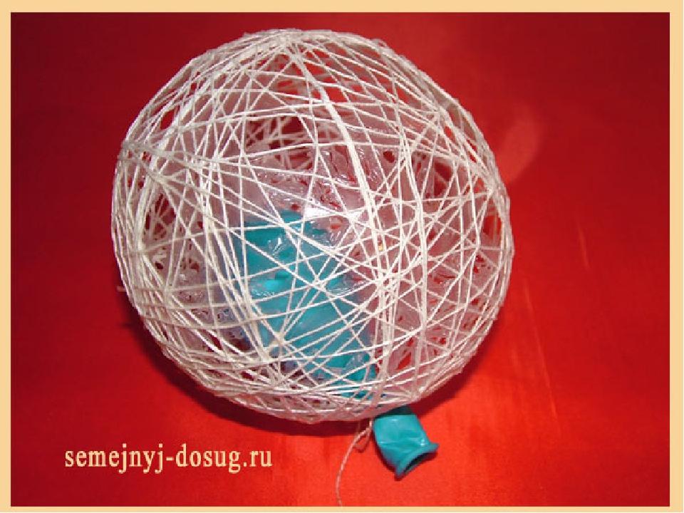 Что можно сделать из шариков из ниток своими руками