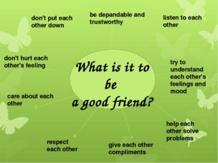 Home work: Ex. 53 p. 138 Write a «Friendship recipe» about how to be a good f
