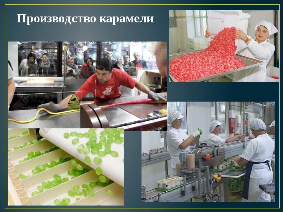Производство карамели