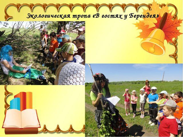 Экологическая тропа «В гостях у Берендея»