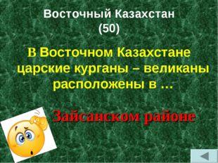 Восточный Казахстан (50) В Восточном Казахстане царские курганы – великаны ра
