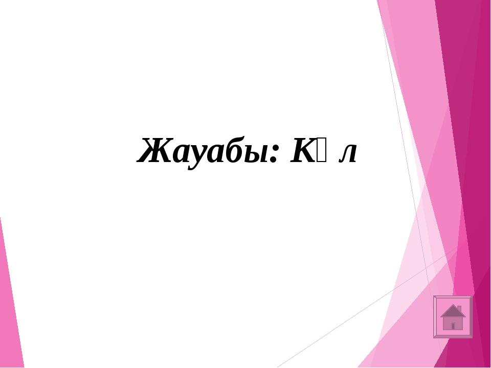 4-көмек: Жазықтықта бұл доға түрінде болады (1 ұпай)