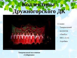 Коллективы Дружногорского ДК