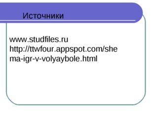 www.studfiles.ru http://ttwfour.appspot.com/shema-igr-v-volyaybole.html Источ