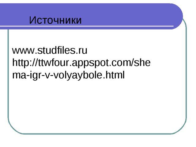 www.studfiles.ru http://ttwfour.appspot.com/shema-igr-v-volyaybole.html Источ...