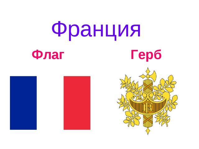 Франция Флаг Герб