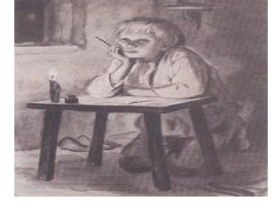 рисунки к рассказу ванька чехов вид кельма представляет