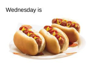 Wednesday is