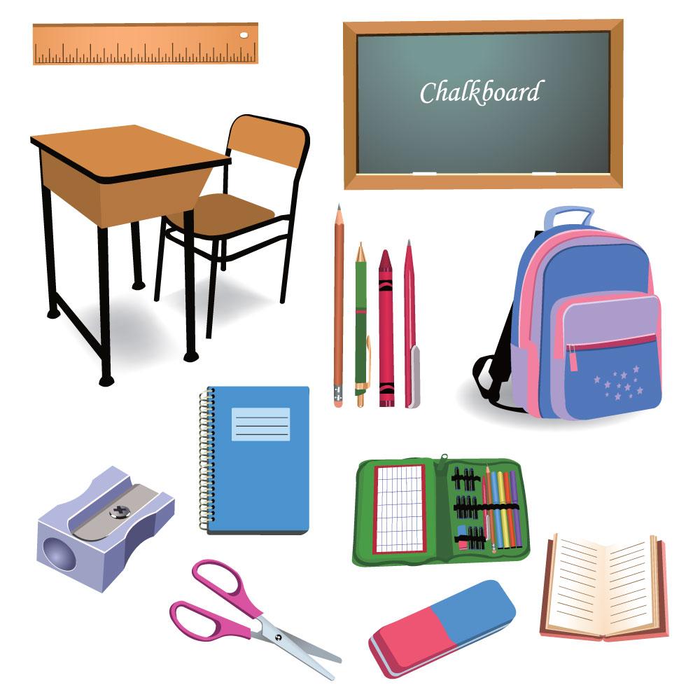 Как сделать из бумаги школьные предметы для себя