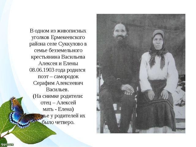 В одном из живописных уголков Ермекеевского района селе Суккулово в семье без...