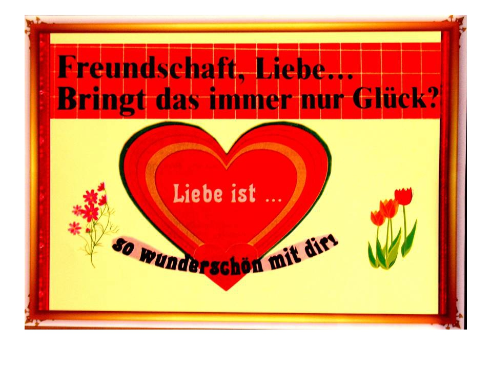 Картинки про дружбу на немецком