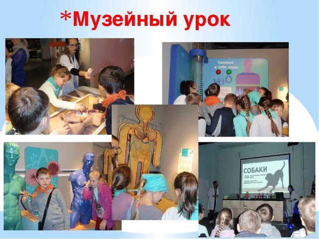 Музейный урок
