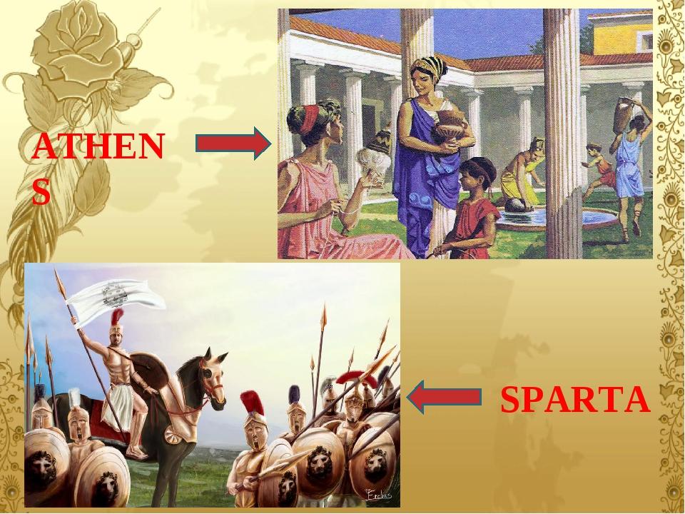 ATHENS SPARTA
