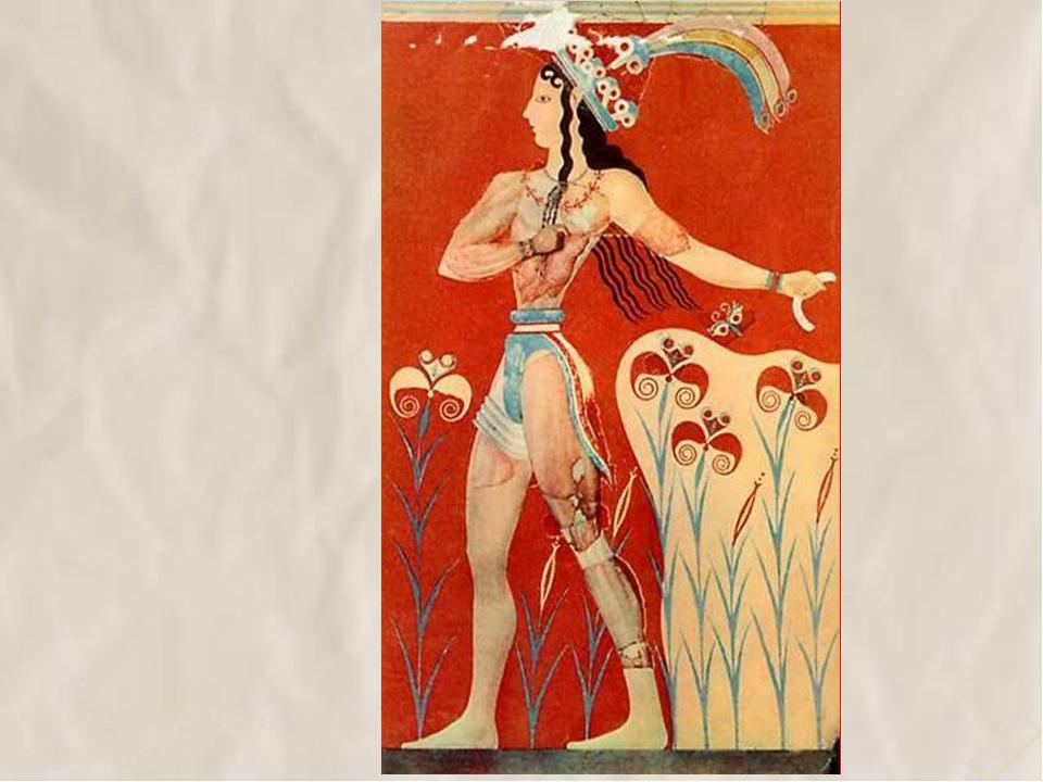 Фреска «Царь- жрец» 