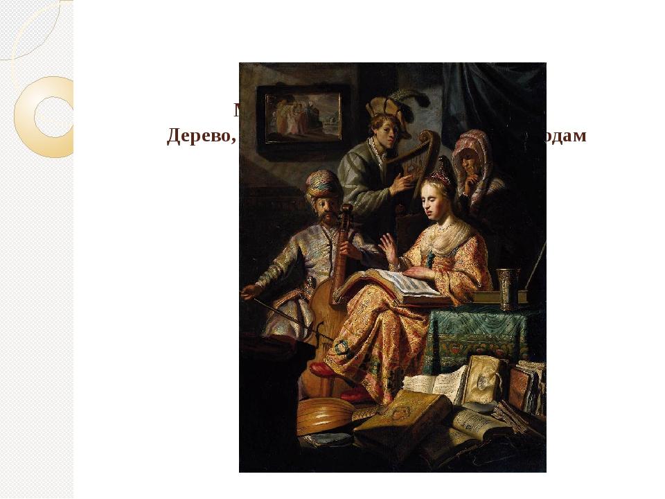 Музыкальная вечеринка, 1626. Дерево, масло, 64х48. Рикс Музей, Амстердам