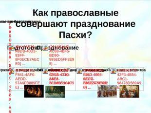 Как православные совершают празднование Пасхи? Шаньков М.Ю. Пасха.