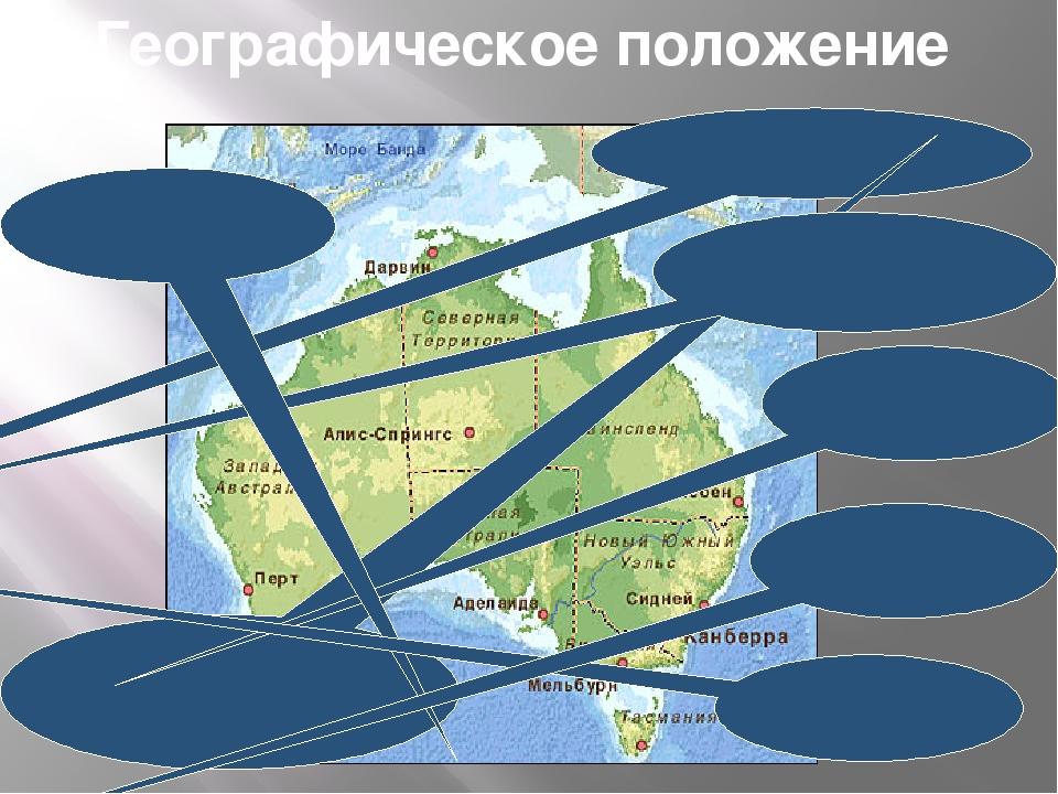 Географическое положение залив Карпентария Большой Австралийский залив Коралл...