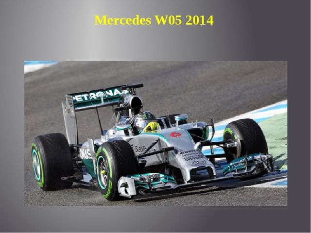 Mercedes W05 2014