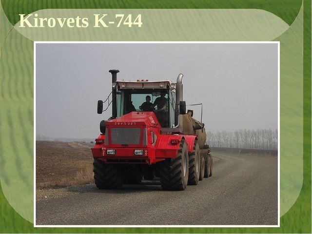 Kirovets K-744